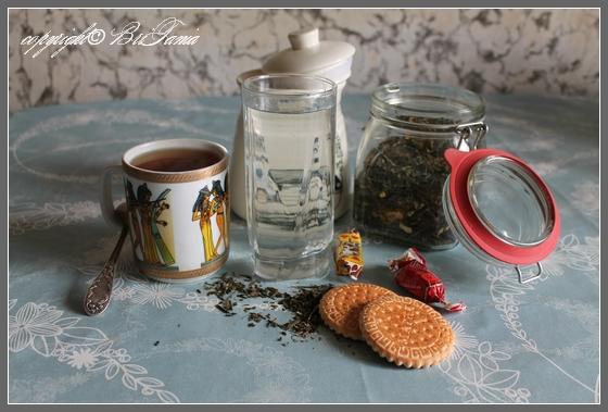 вода и чаи