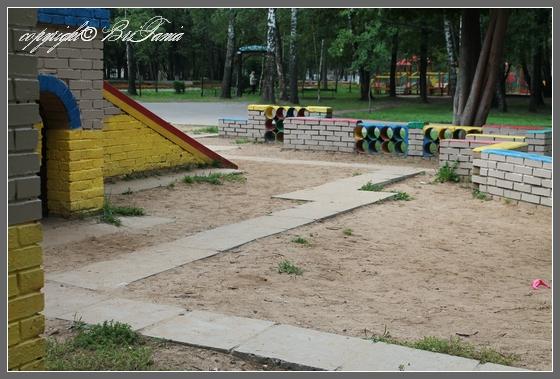 Наземное покрытие детской площадки